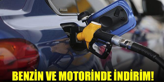 Benzin ve motorinde indirim!