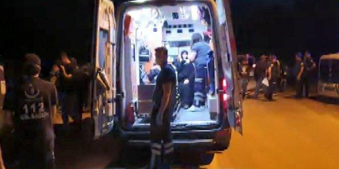 Bursa'da minibüs ile traktör çarpıştı: 6 yaralı