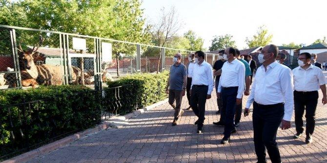 Konya'da başkanlar Karatay Belediyesi'nin yatırımlarını inceledi