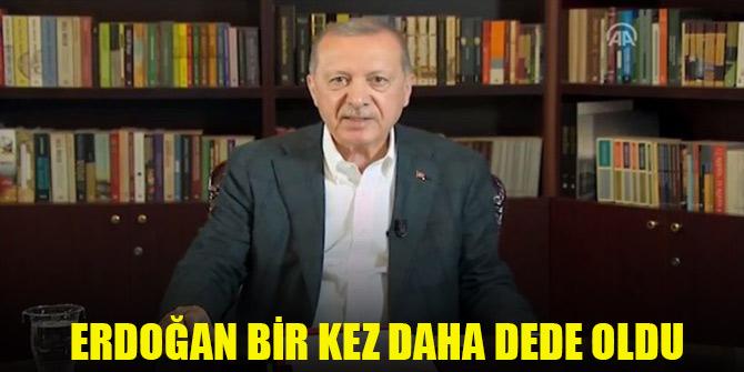 Cumhurbaşkanı Erdoğan bir kez daha dede oldu