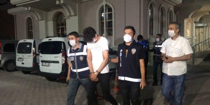 Konya'da çalıştığı eski iş yerinden hırsızlık yapan şüpheli ile arkadaşı tutuklandı
