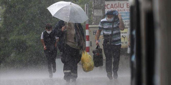 Doğu Anadolu'daki 6 il için yağış uyarısı