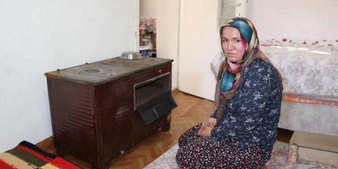 Tüm birikimi sobada yanan kadına devletten yardım eli
