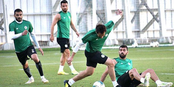 Konyaspor, Çaykur Rizespor maçı hazırlıklarını sürdürdü