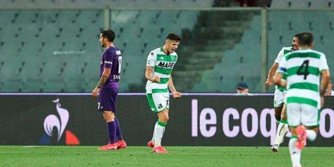 Mert Müldür attı Sassuolo kazandı
