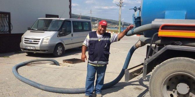 Freni patlayan kamyon devrildi: Belediye işçisi hayatını kaybetti