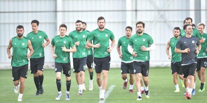 Konyaspor'da Çaykur Rizespor maçı hazırlıkları