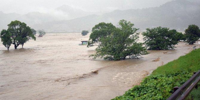 Japonya'yı şiddetli yağış vurdu: 13 kişi kayıp