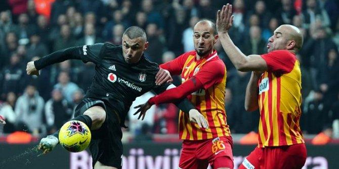 Beşiktaş ile Kayserispor 48. randevuda