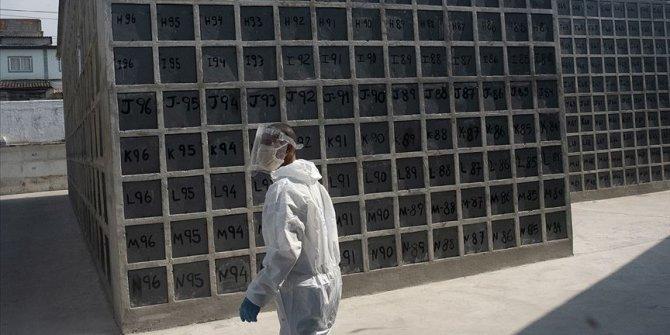 Salgında son 24 saatte Brezilya'da 1091, Meksika'da 523, Hindistan'da 610 kişi öldü