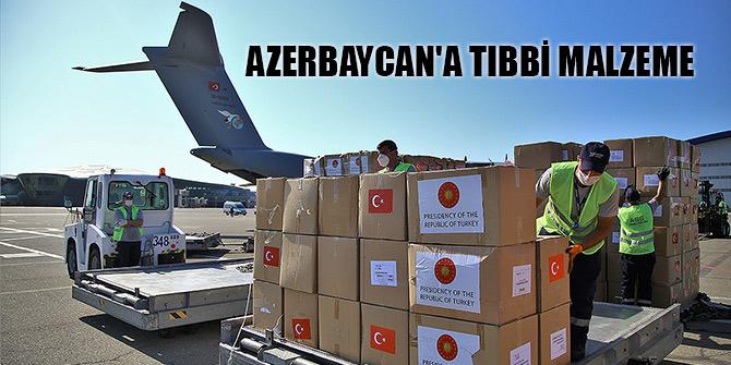 Türkiye'den Azerbaycan'a tıbbi malzeme desteği