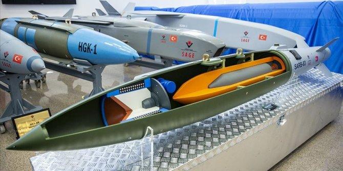Yerli uçak bombası SARB-83 seri üretime hazır