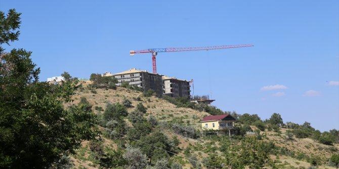 Taşkent'te sosyal konut inşaatlarının yapımına başlandı
