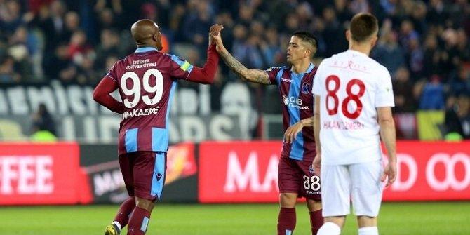 Trabzonspor ile Antalyaspor 48. randevuda