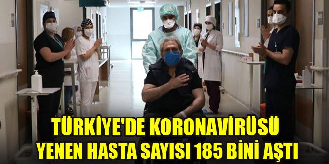 Türkiye'de virüsü yenen hasta sayısı 185 bini aştı