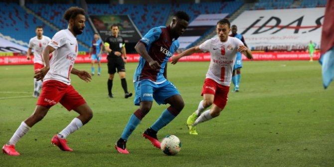 Trabzonspor'dan kritik puan kaybı