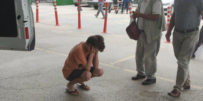 Dedesini 3'üncü kattan düşerken gören torunu gözyaşlarına boğuldu