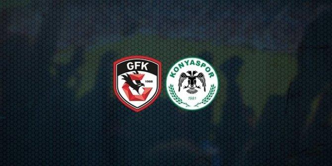 Gaziantep FK-Konyaspor maçının ilk 11'leri belli oldu!