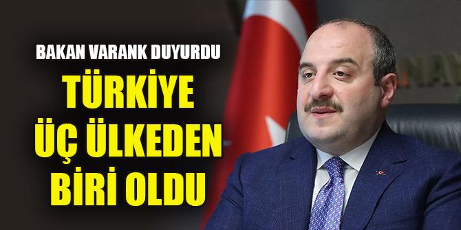 Bakan Varank: Mayısta en hızlı toparlanan ilk üç ülkeden biri olduk