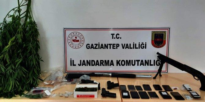 Gaziantep merkezli uyuşturucu operasyonu: 19 gözaltı
