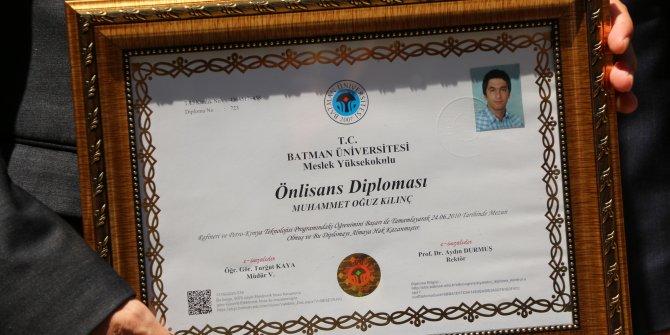 15 Temmuz şehidinin almadığı diploması, ailesine teslim edilecek