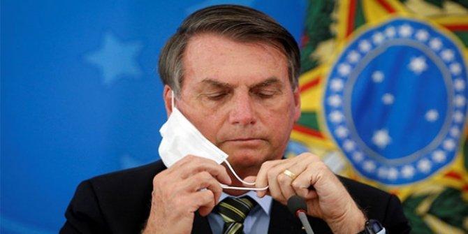 Bolsonaro'nun ikinci testi de pozitif çıktı