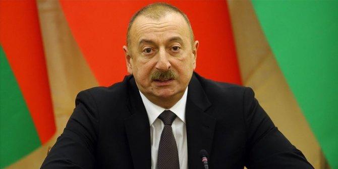"""Azerbaycan Cumhurbaşkanı Aliyev'den Doğu Akdeniz mesajı: """"Türkiye'yi tereddütsüz destekliyoruz"""""""