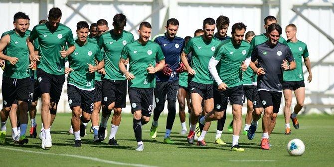 Konyaspor, Trabzonspor maçı hazırlıklarını tamamladı