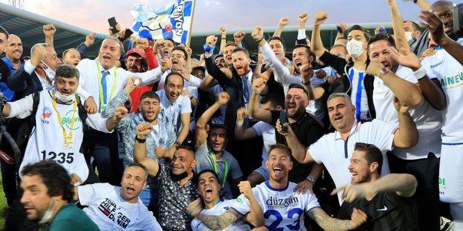 Büyükşehir Belediye Erzurumspor, bir yıllık aradan sonra lige geri döndü