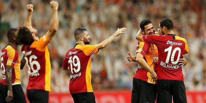 Galatasaray galibiyeti hatırladı