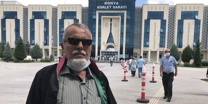 Konyalı 83 yaşındaki avukat, mesleğini 55 yıldır aşkla sürdürüyor