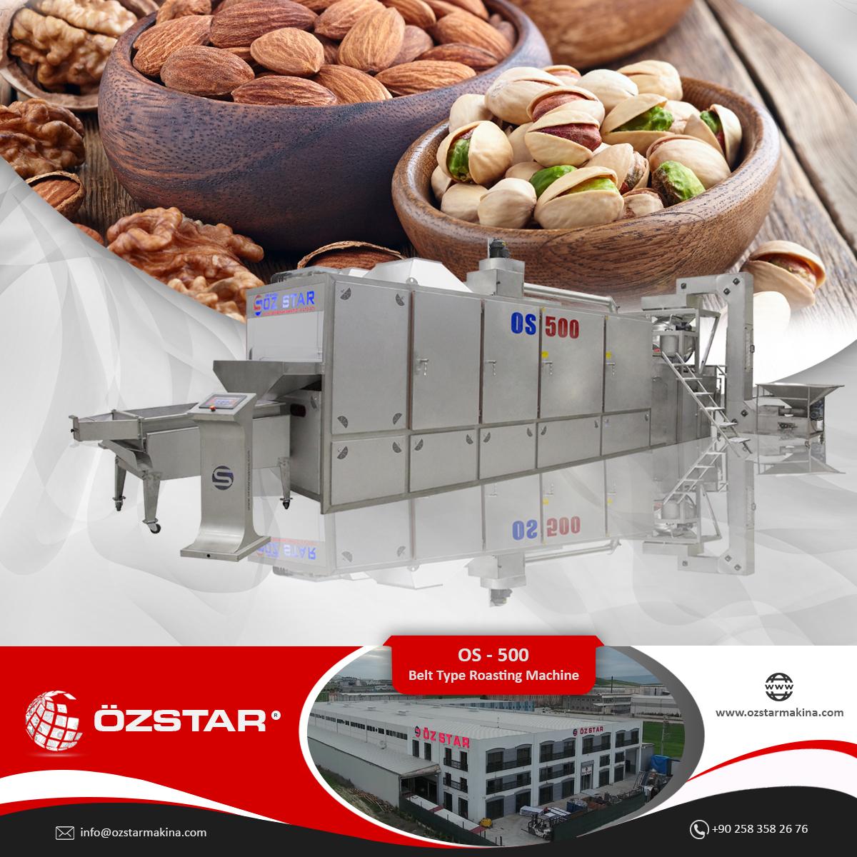 Nuts Roasting Machine