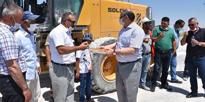 Başkan Yaka vatandaşlarla bir araya geldi