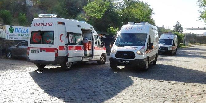 Diyarbakır'da ihale kavgası: 1'i ağır 8 yaralı