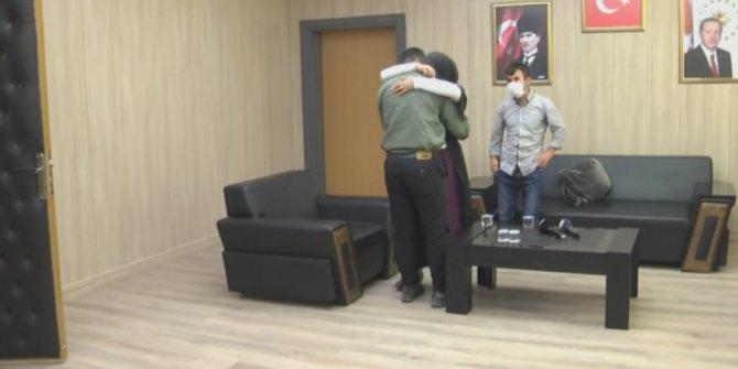 PKK'dan kaçarak teslim oldu, ailesiyle buluşturuldu