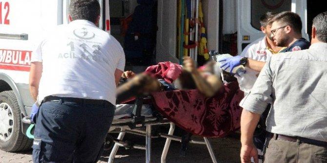 Azez'de patlamada yaralananlar Kilis'e getiriliyor
