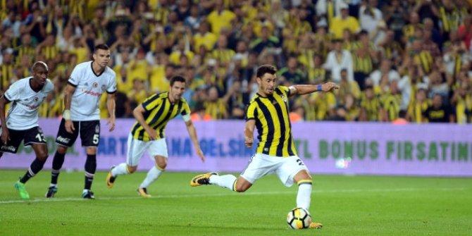 Süper Lig: Beşiktaş: 0 - Fenerbahçe: 0 (İlk yarı)