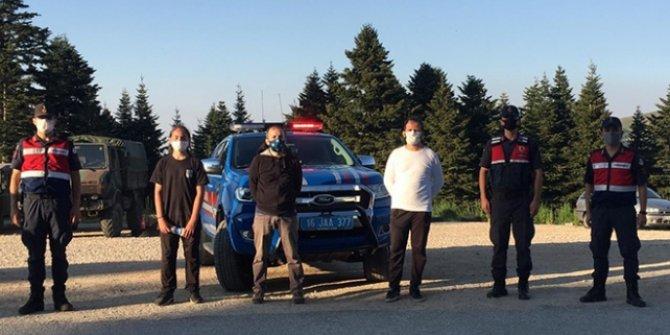 Uludağ'da kaybolan 3 kişiye 6 saatlik arama sonrası ulaşıldı
