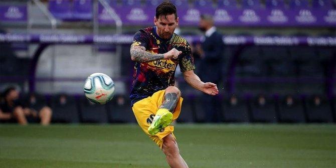 Messi kariyerinde 6. kez La Liga'da gol kralı oldu