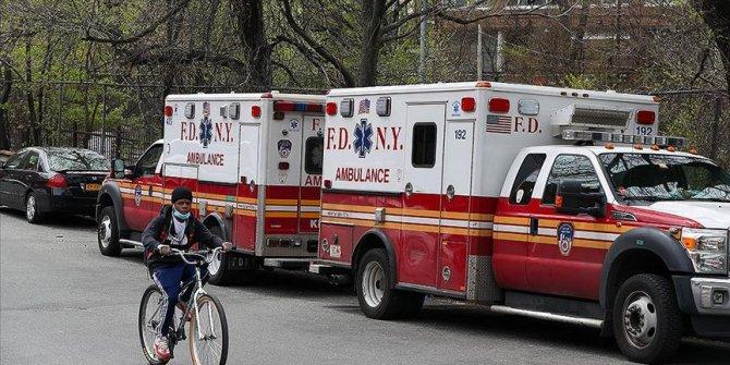 ABD'de Kovid-19 salgınında 24 saatte 428 kişi hayatını kaybetti