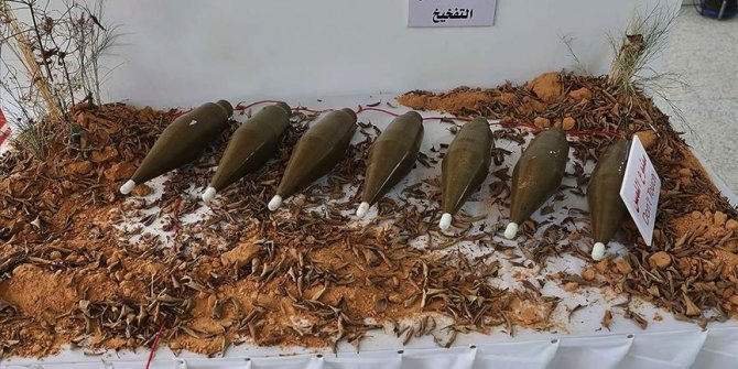 Trablus'un güneyindeki 150 alan mayınlardan temizlendi