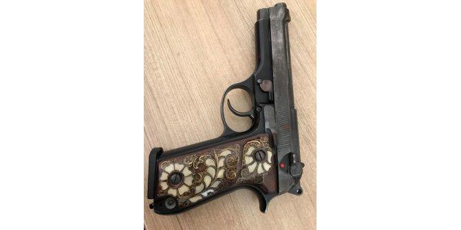 Bitlis'te ruhsatsız tabanca ele geçirildi