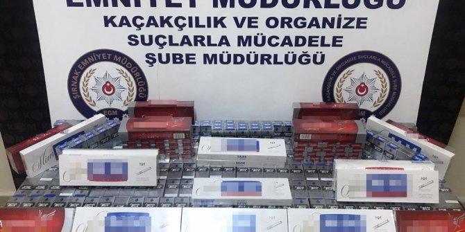 Şırnak'ta kaçakçılık operasyonu: 20 gözaltı