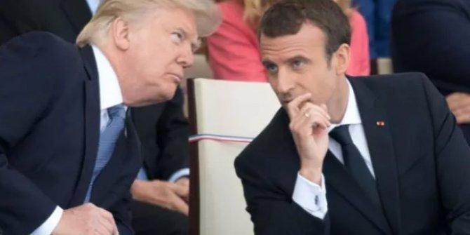 Trump ve Macron kritik Libya görüşmesi