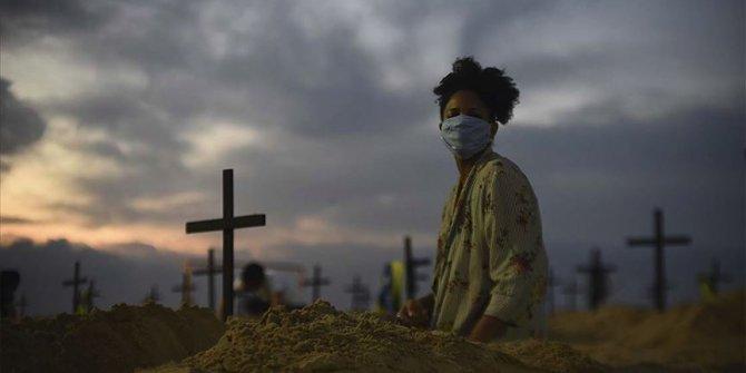 Salgında son durum... Brezilya'da 632, Hindistan'da 587, Meksika'da 301 kişi öldü