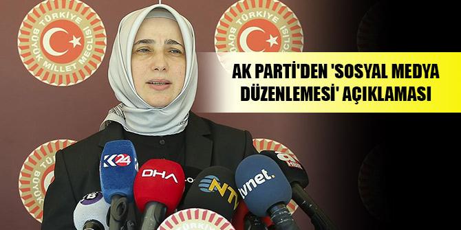 AK Parti'den 'sosyal medya düzenlemesi' açıklaması