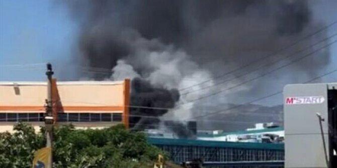 Ödemiş Devlet Hastanesi'nde korkutan yangın