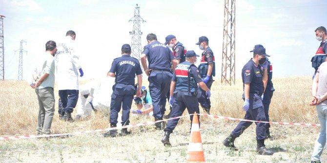 Yozgat'ta buğday tarlasında erkek cesedi bulundu
