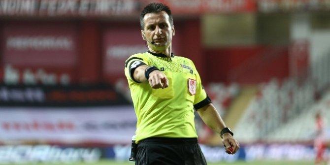 Antalyaspor-Galatasaray maçının hakemi açıklandı