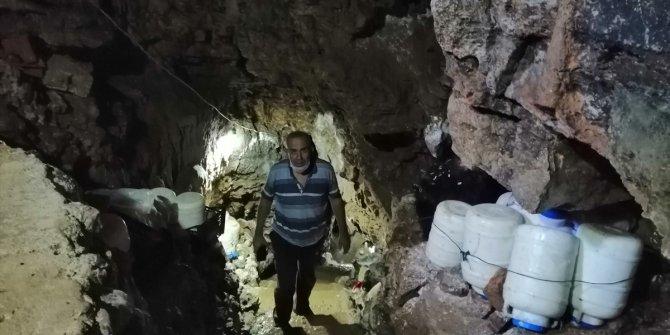 Konya'nın meşhur Kembos peyniri mağarada olgunlaşıyor